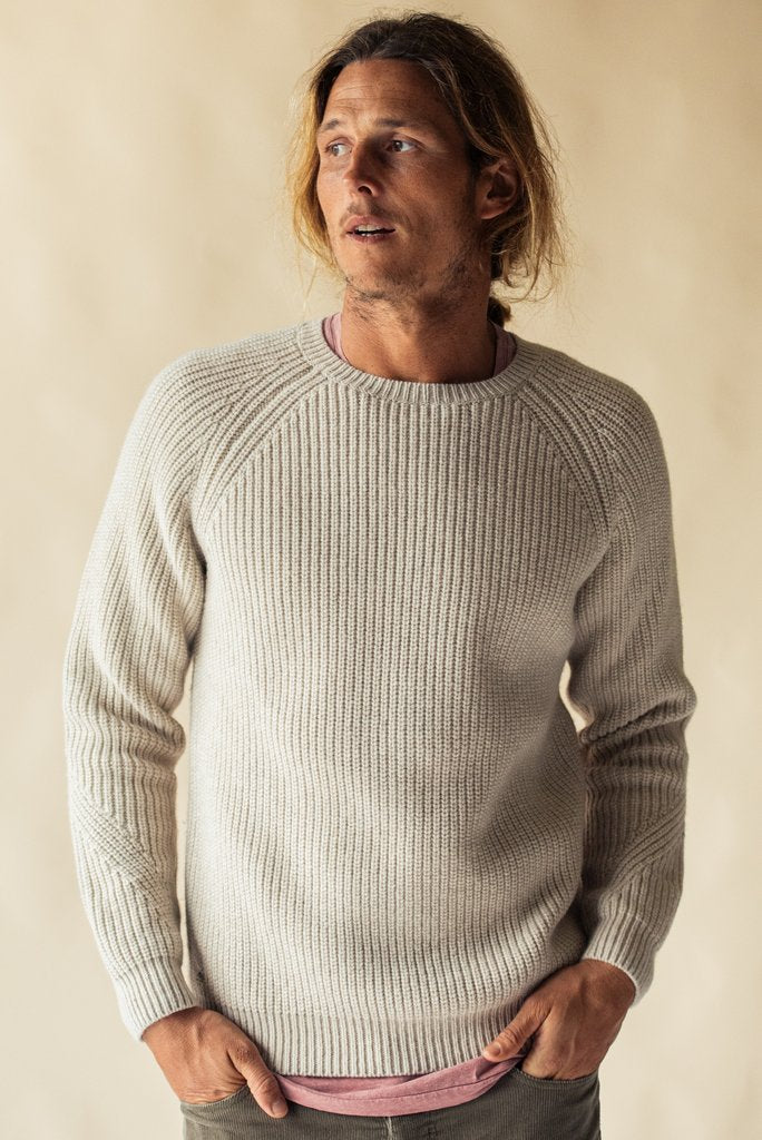 McTavish Fisherman Knit Crew
