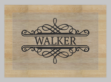 Load image into Gallery viewer, MEDIUM Glass Cutting Board/Trivet