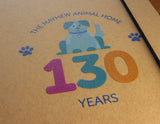 Mayhew 130th birthday A5 dog notebook with pen - The Mayhew Animal Home - 2