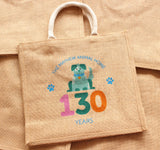 Mayhew 130th birthday dog jute bag - The Mayhew Animal Home - 2