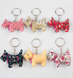 Scottie Dog Keyring - The Mayhew Animal Home - 1