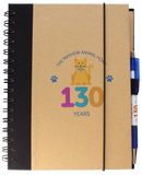 Mayhew 130th birthday A5 cat notebook with pen - The Mayhew Animal Home - 1