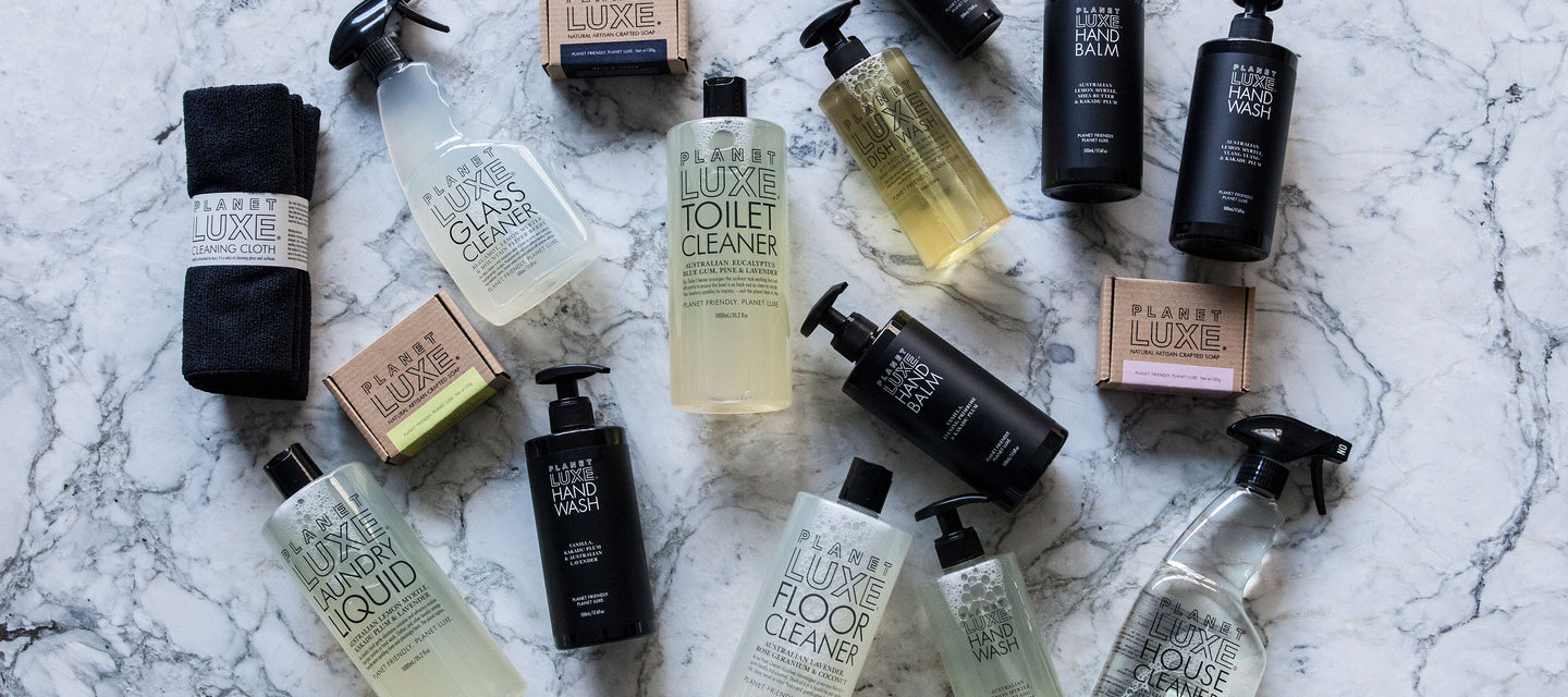 Planet Luxe Natural Cleaning Products