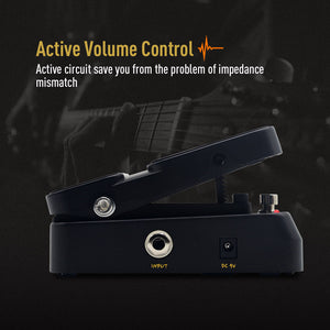SONICAKE VolWah Active Volume & Wah Expression Pedal
