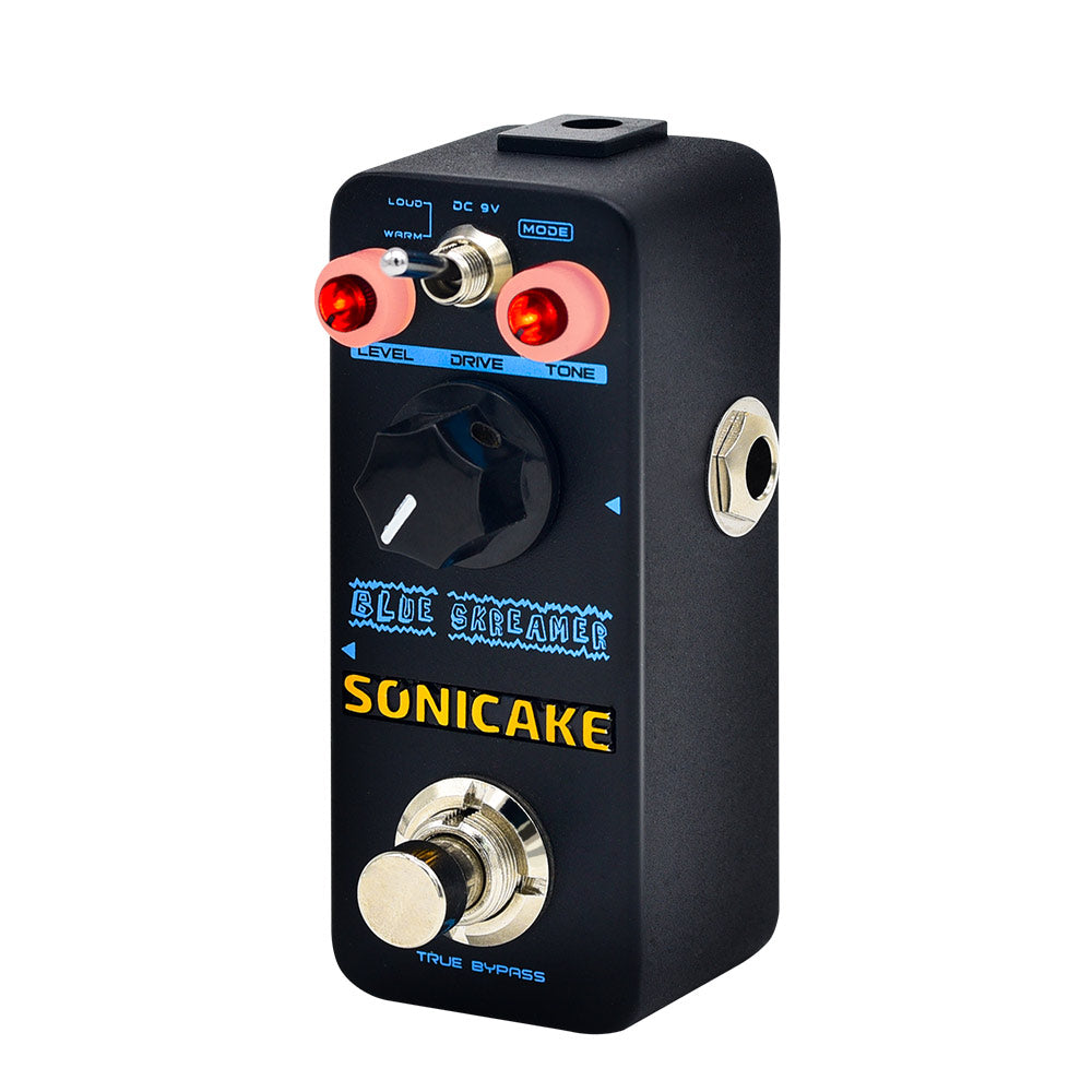 SONICAKE Blue Skreamer Vintage Dumble Blues Analog Overdrive Guitar Effects Pedal