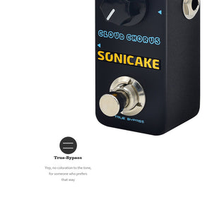 SONICAKE Cloud Chorus Classic BBD Analog Chorus Guitar Effects Pedal