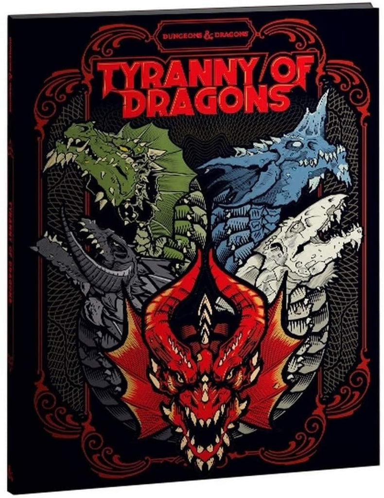 D&D Tyranny of Dragons (Hoard of the Dragon Queen/The Rise of Tiamat) Limited Edition Cover