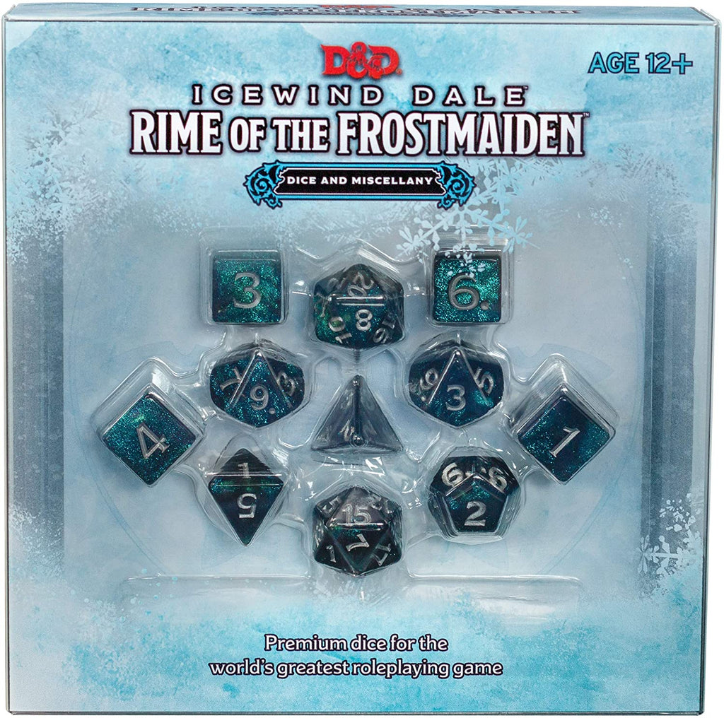 Icewind Dale: Rime of the Frostmaiden Dice Set