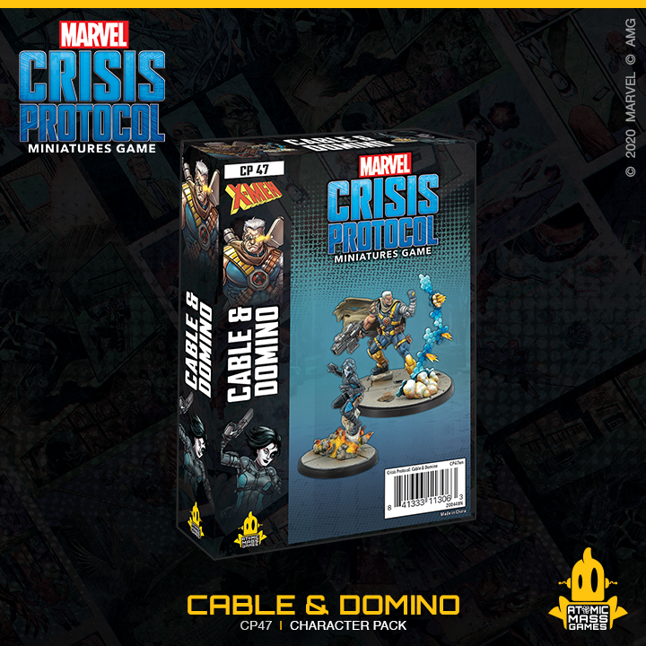 Marvel Crisis Protocol: Cable & Domino