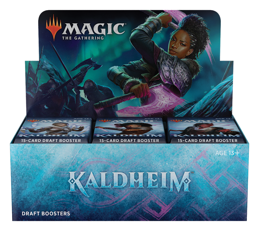 MTG: Kaldheim Draft Booster Display