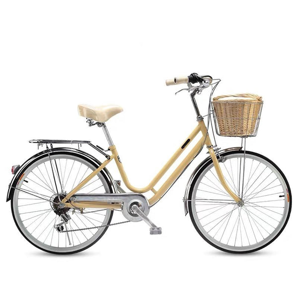 24-inch japan Shimano 6-speed transmission lady bike city commuter retro bicycle