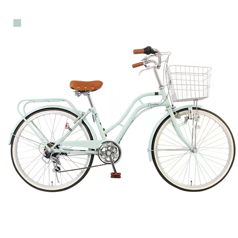 24inch japan 6-speed Shimano transmission lady bike city commuter retro bicycle
