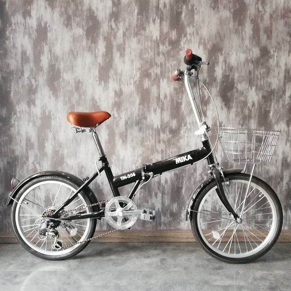 20inch Japan 6-speed foldable bike community city bicycle