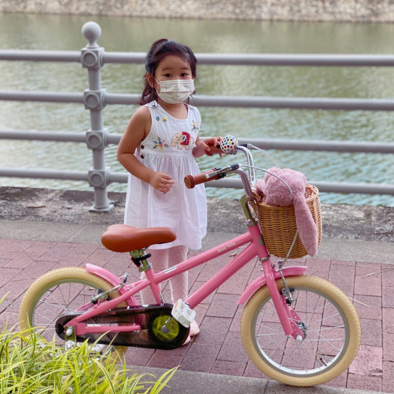 16inch boy and girl children bicycle kids bike with basket and Auxiliary wheel