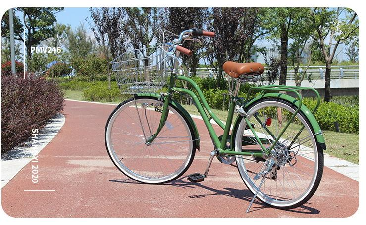 Oliver Green 24inch japan 6-speed Shimano transmission lady bike city commuter retro bicycle