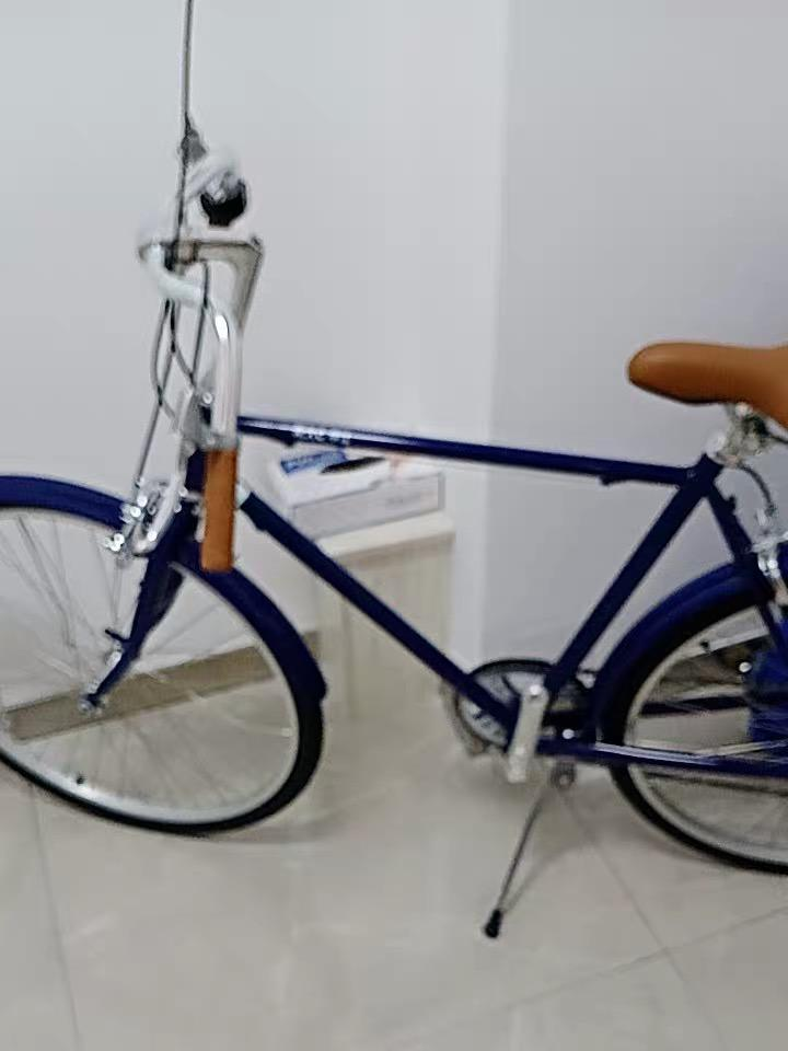24 inch retro bicycle with 7-speed Shimano Transmision