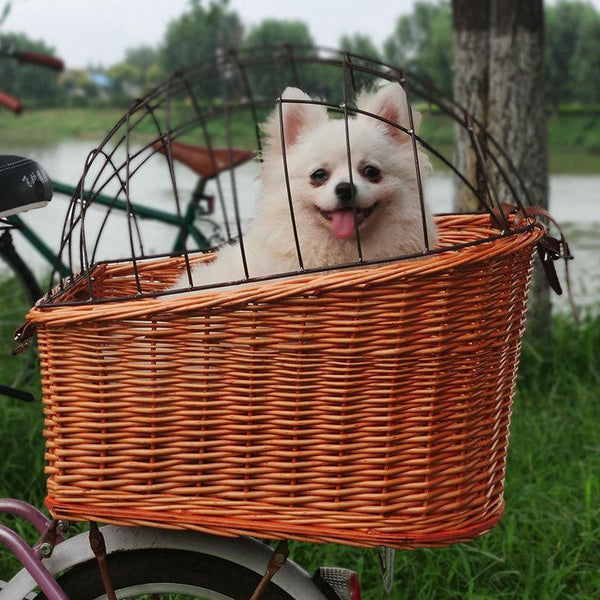 Rattan Basket for your fashion bicycle