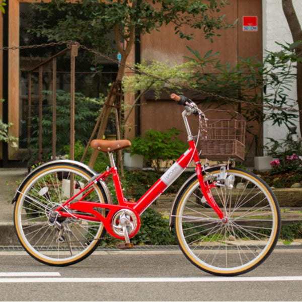 24 inch Top one Japan lady bike with Shimano 6 speed