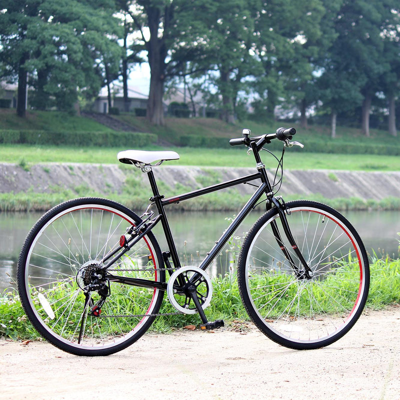 26 inch Shimano 6 speed transmision with road bike frame