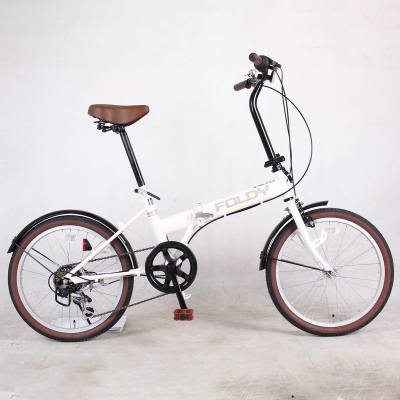 20inch foldable bike 6-speed Shimano Transmision steel folding bicycle