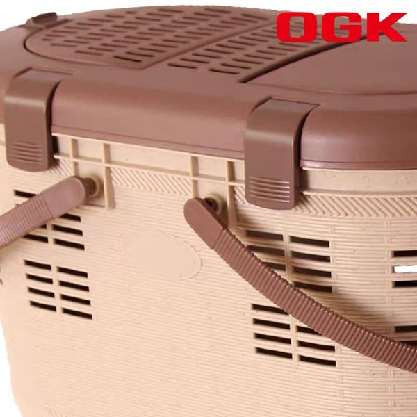 Japan OGK bicycle quick release rear basket pet basket pet bag