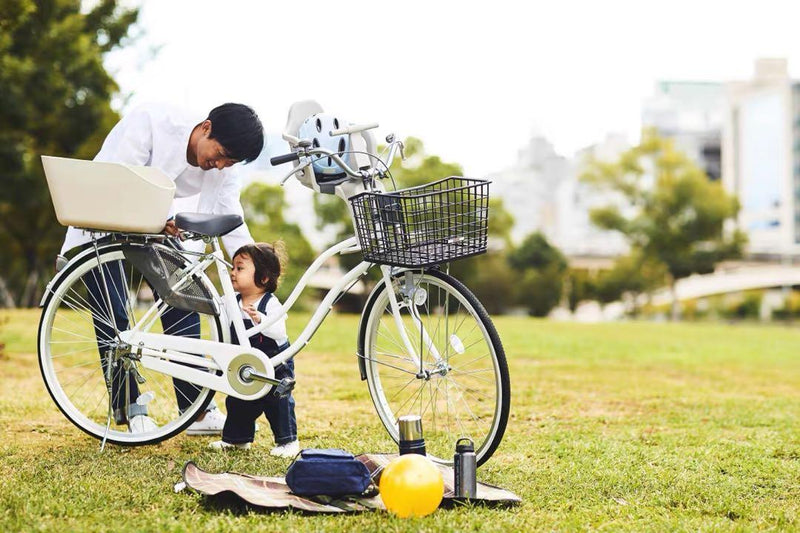Japan OGK bicycle rear basket city bike basket bicycle basket