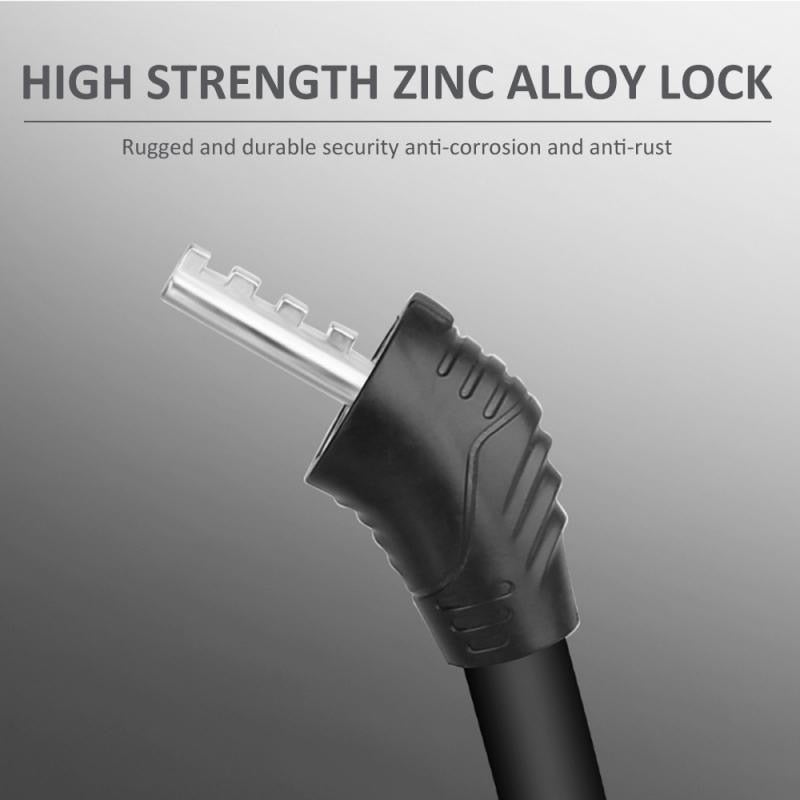 Digit Bicycle Chain Lock Anti-theft Anti-Cutting Alloy Steel