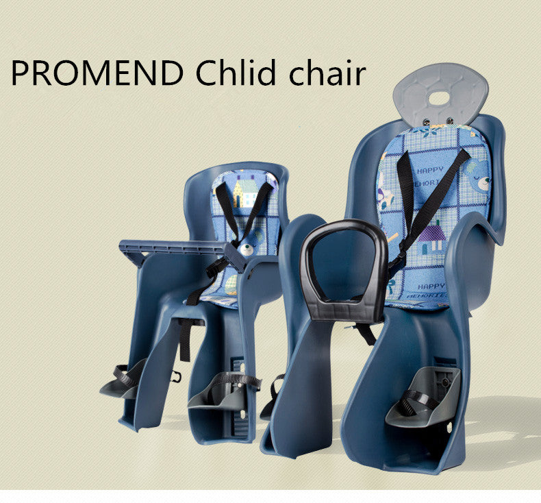 Baby Children Kids  Chair for Bicycle Saddle Children Front Back Seat with Protection Seat Belt Handle Bar