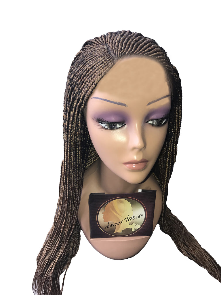 Wig Hadiza-Frontal Lace Corn Row Wig-#27
