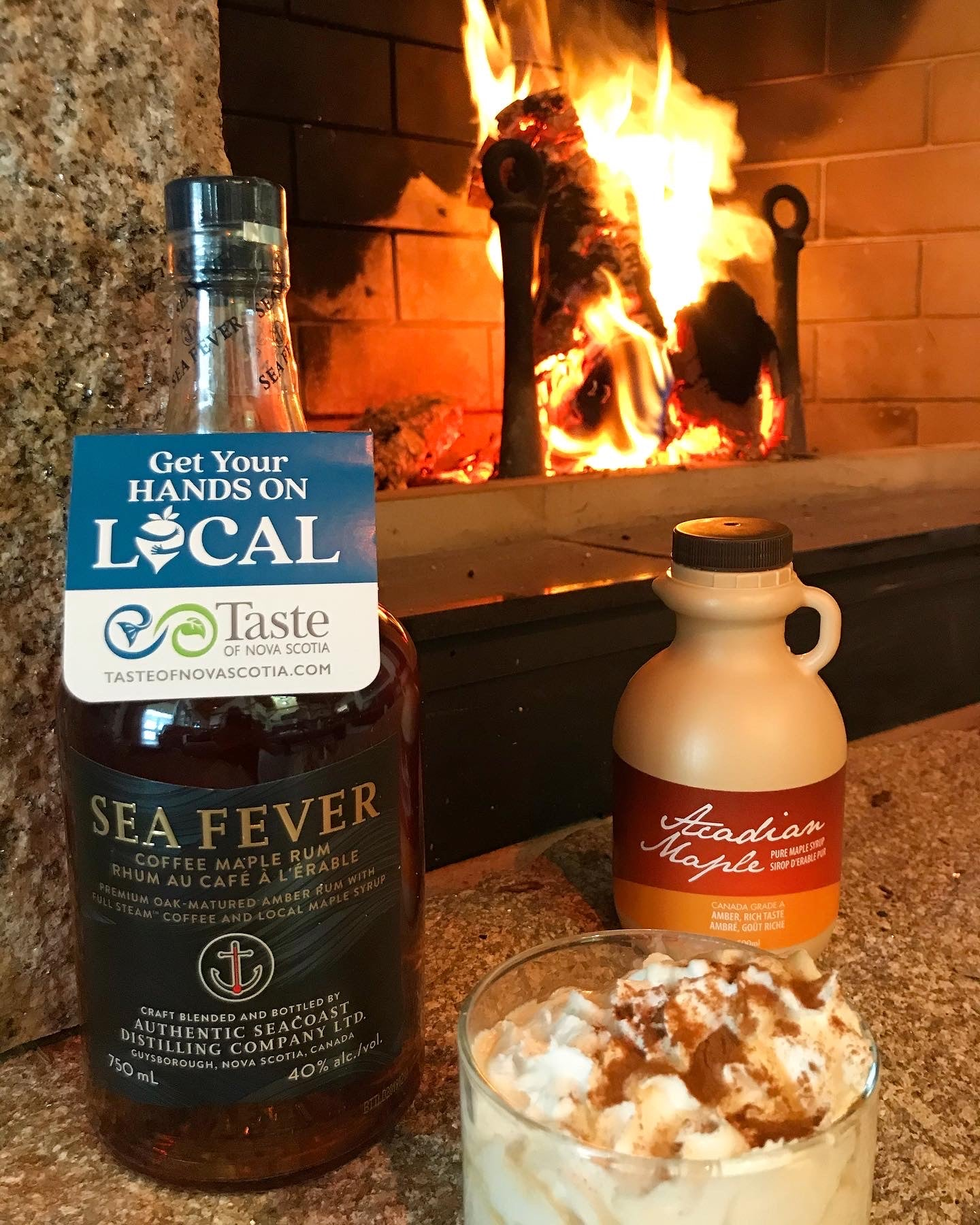 mmm Maple: Coffee maple Sea Fever Rum: Cocktail recipe