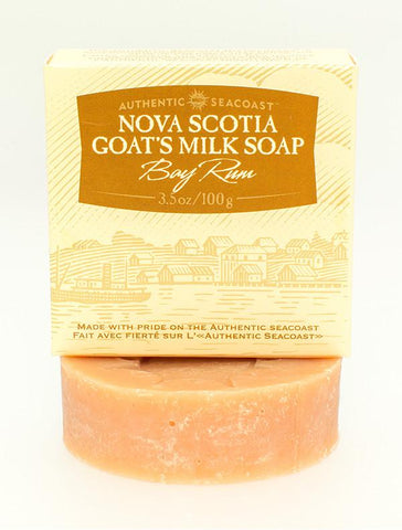 Bay Rum Goat's Milk Soap, Authentic Seacoast Company