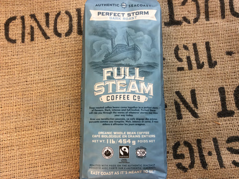 Full Steam Perfect Storm - Dark Roast (WHOLE BEAN)