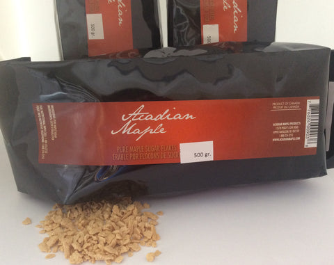 500g Maple Flake Sugar