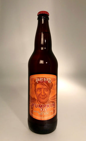 Rare Bird Craft Beer Pumpkin Ale, Authentic Seacoast Company