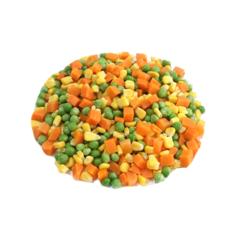 Frozen Mixed Vegetables (Green Peas, Carrots, Corn)