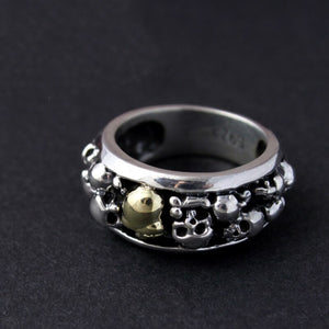 100% Real 925 Sterling Silver Ring - Smelloncollie