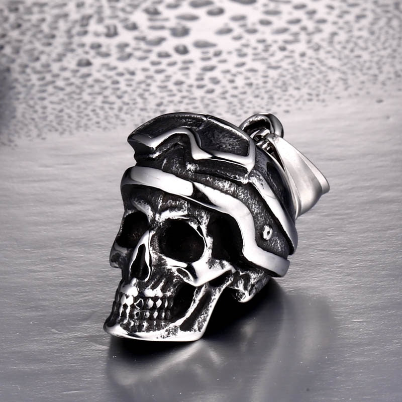 New arrival cool punk skull pendant necklace man personality exquisite jewelry - Smelloncollie
