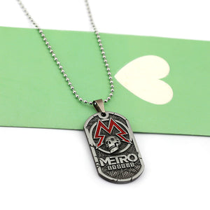 Game Metro 2033 Necklace