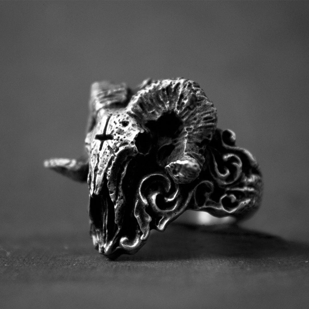 Demon Aries Skull Rings - Smelloncollie