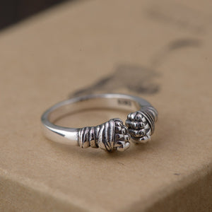 Kard Chuek Ring (Real 925 Sterling Silver 100%HANDMADE) - Smelloncollie