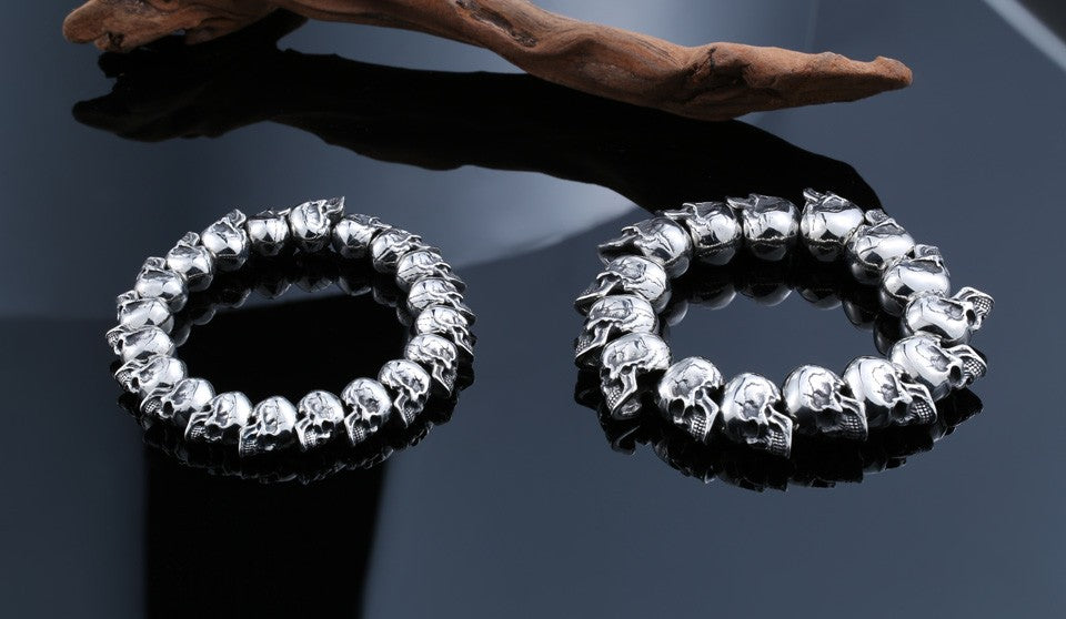 The Best Skull Bracelet For Man 316 Stainless Steel - Smelloncollie