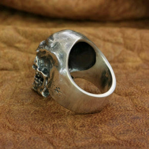Great Honor Skull -925 Sterling Silver Ring for Men