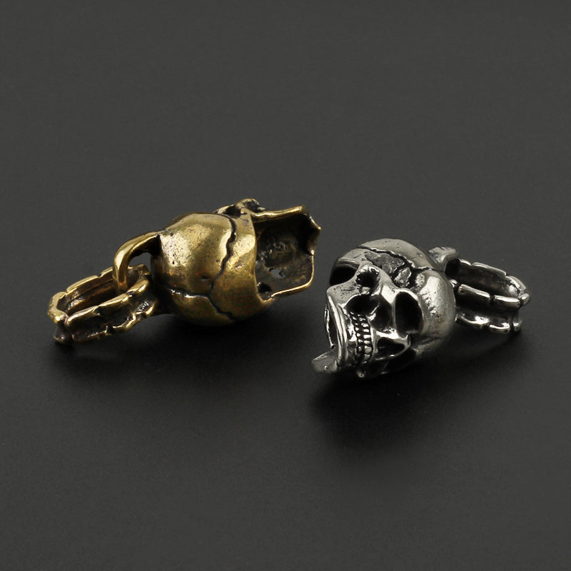Best Seller Brass Copper Skull Pendant Key - Smelloncollie