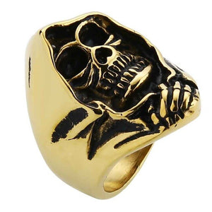 Best Seller Rider Skull Ring - Smelloncollie