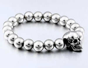 Best Seller Steampunk Metal Skull Bracelets /Stainless Steel - Smelloncollie
