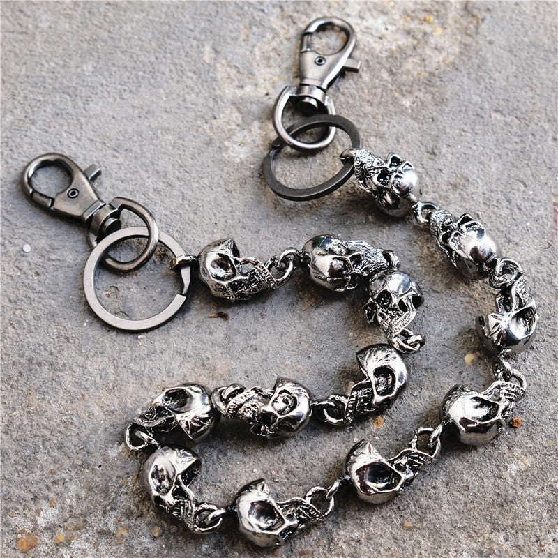 Skull Wallet Chain - Smelloncollie