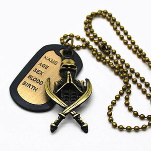 Xiong Designer The Dead Walking Necklaces Pendants Hand Bone Skull Gift Necklace For Men Man Jewelry