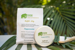 Tusk Toothpowder - with Aluminum Jar