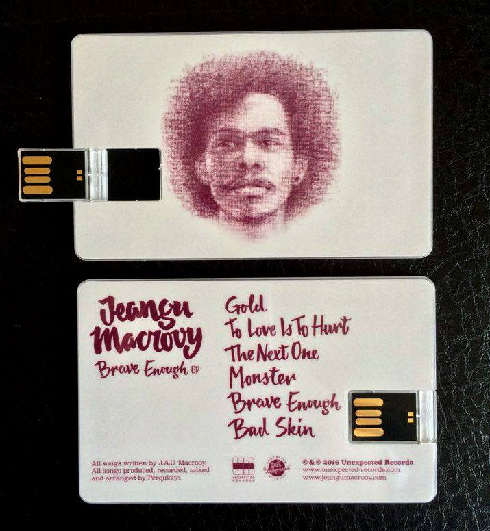 Jeangu Macrooy - Brave Enough EP (USB-card)