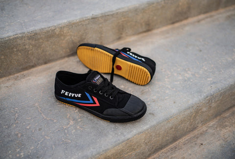 feiyue 1920 black trainer shoe